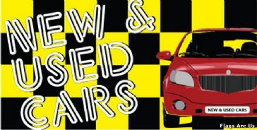 New & Used Cars  (Yellow)